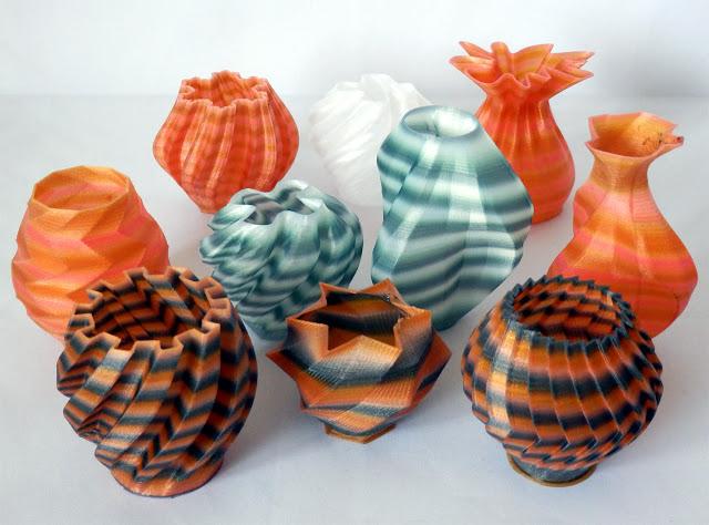 Multicolor Nylon Pots