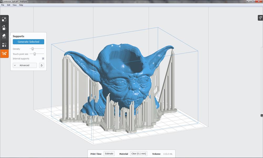 PreForm - Yoda 3D Print