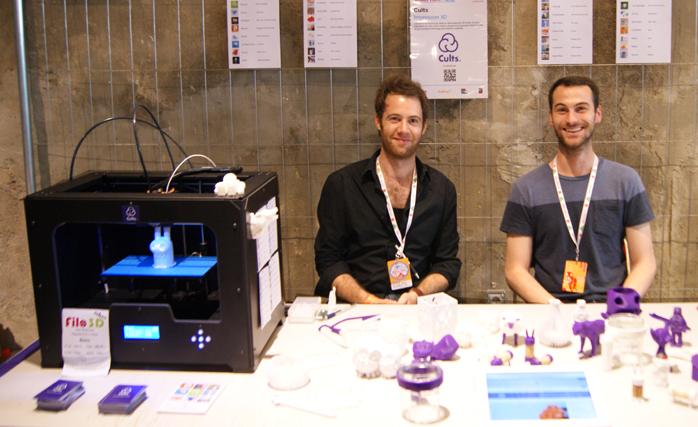 Hugo & Pierre at Maker Faire Paris