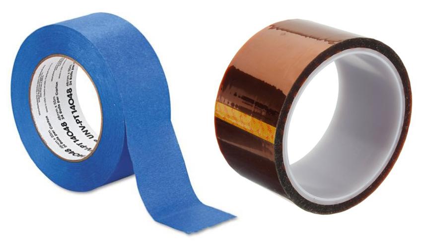 Blue tape - Kapton tape