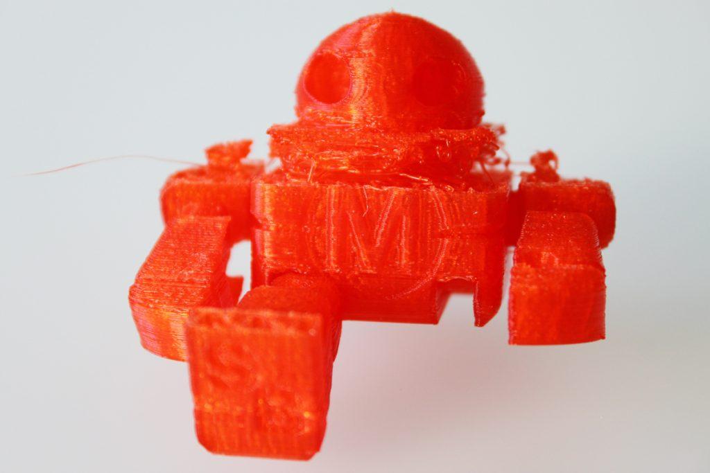 Failed 3D print