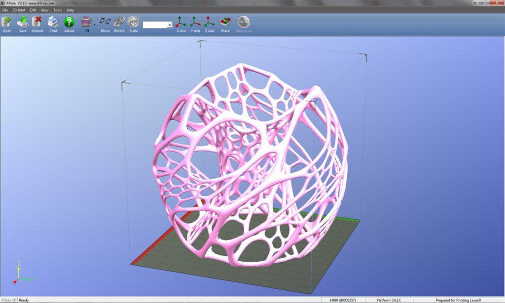 Afinia 3D Program