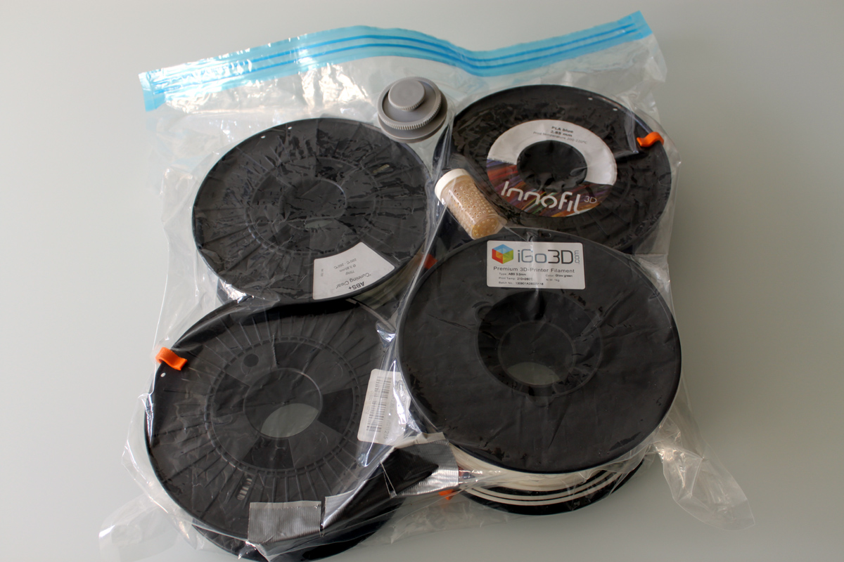 How to Store 3D Printing Filament | 3D Printing for Beginners