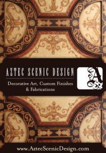 Aztec Scenic design