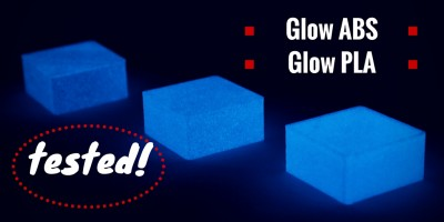 Glow-in-the-dark filament review