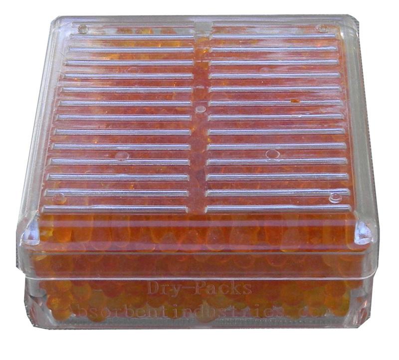Dry-Packs 45 Gram Silica Gel Hard Plastic Canister