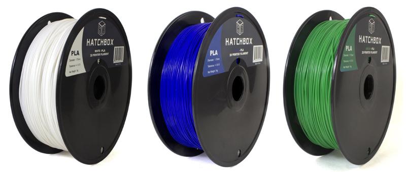 Hatchbox 3D printing filament