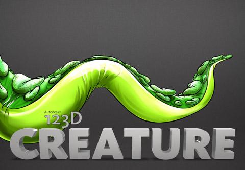 123D Creature - Logo