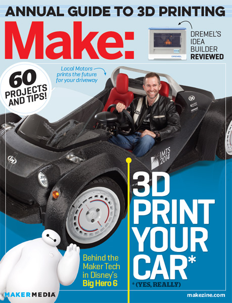 Make: Annual Guide to 3D Printing 2015