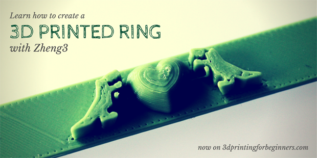 How to create a 3D printed ring